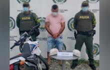 Cae con 2 mil gramos de cocaína en Lorica