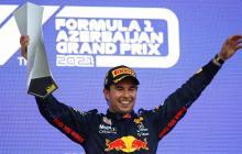 Sergio 'Checo' Pérez gana el Gran premio de Azerbaiyán