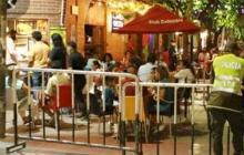 Entusiasmo y aglomeraciones en la reapertura de bares en Santa Marta