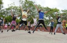 Barranquilleros gozaron al aire libre al son del 'Baila- ton'