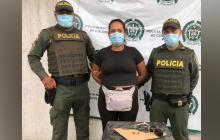 Mujer fue capturada en Sabanalarga con un revólver sin permiso para porte