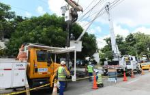 Por reposición de redes eléctricas no habrá luz en estos barrios