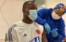 Delegación de la Selección se vacunó en Barranquilla contra la covid-19