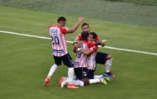 Junior vs Millonarios: partido de ida de la semifinal en al Liga BetPlay