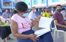 Mil familias serán propietarias de su inmueble en el barrio Ferrocarril de Soledad