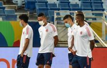 Colombia y Ecuador se enfrentan en la Copa América de Brasil