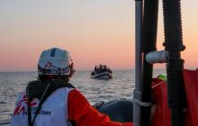 410 migrantes fueron rescatados en el Mediterráneo