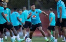 Brasil entrena después de victoria sobre Venezuela y antes de viajar a Río