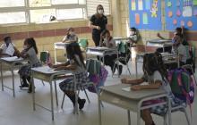 Colegios en municipios del Atlántico reanudan actividades de forma remota