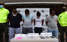 Cae banda señalada de hurtos a mano armada en Cartagena