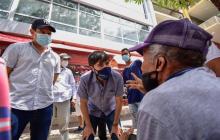 Vamos a trabajar por la transformación del Centro: Pumarejo