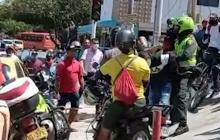 Atraco, balazos y dos capturados en barrio Nueva Granada