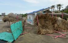 Emergencias por fuertes lluvias en Barranquilla y municipios