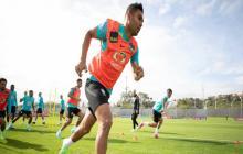 Brasil entrena sin Felipe, lesionado, antes del descanso del domingo