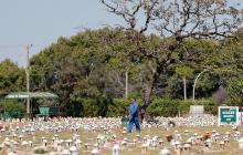 Muertes en Brasil por covid-19 superan las 500 mil