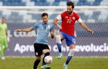 Copa América empate entre Uruguay y Chile