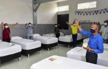 Inauguran Centro de Acogida Noche para habitantes de calle