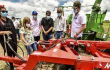 Campesinos del Atlántico contarán con nuevo Centro de Servicios Tecnológicos y maquinaria agropecuaria