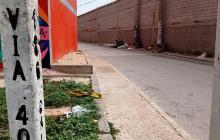 Ataque de sicarios en Las Flores deja un hombre herido