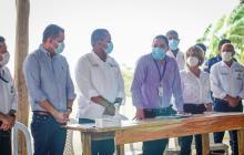 Se firmó acta de inicio de obra de la nueva cárcel de Riohacha