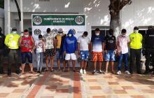 Desarticulan banda que vendía drogas en Baranoa