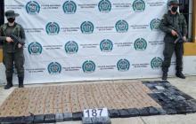 Policía Antinarcóticos incautó 185 kilos de cocaína en el Puerto de Barranquilla