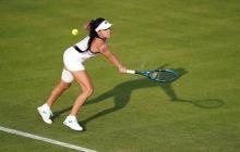 María Camila Osorio debutó con triunfo en la qualy de Wimbledon