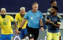 Red Nacional de Veedurías pide anular resultado de Brasil-Colombia
