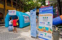 Cartagena solo está aplicando hoy jueves segundas dosis conta covid-19