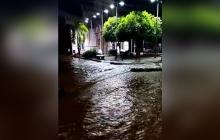 Reportan desbordamiento de la quebrada en San José de Uré, sur de Córdoba