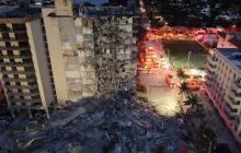 Identifican a primera víctima tras el desplome de edificio en playa de Miami