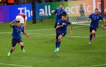 Italia sufrió más de lo esperado, pero avanzó a cuartos de la Euro
