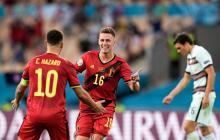 Bélgica superó a Portugal y se clasificó a los cuartos de final de la Euro