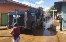 Inició intervención en Uré para mitigar emergencia por desbordamientos