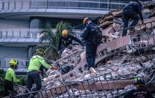 Aumentan a 10 los muertos por el derrumbe de edificio de Miami