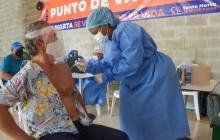 Nuevo punto de vacunación contra la covid-19 en el Centro Comercial Arrecife