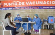 Desabastecimiento para segunda dosis de Sinovac en Santa Marta