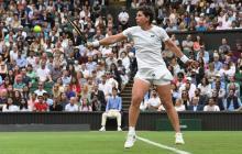 """Wimbledon me ha hecho un gran regalo"": Carla Suárez"