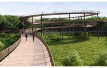 Distrito abre licitación para tren turístico y paseo peatonal de Mallorquín