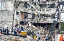 Aumentan los muertos por derrumbe de edificio en Miami-Dade