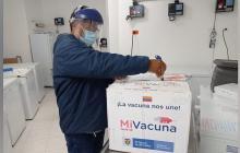 Llegan a Sucre las primeras 5 mil vacunas de dosis única