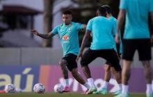 Brasil prepara penaltis en su último entrenamiento antes de medirse con Chile