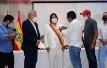 Representante Cesar Lorduy recibe reconocimiento del Congreso