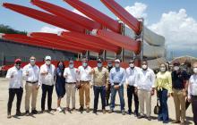 Presidente Duque visitó Puerto Brisa en La Guajira