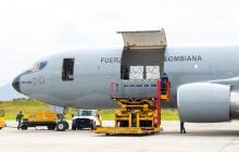 Llegan a Colombia 2.5 millones de vacunas donadas por EE. UU.