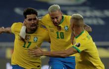 Brasil despide a Chile de la Copa América