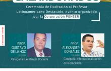 Universidad Libre recibe exaltación al Profesor Latinoamericano Destacado