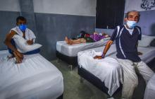 'Visa para un sueño': el centro para dormir de las personas sin hogar