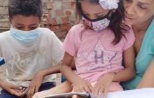 """En Ciénaga, Magdalena, los niños """"tienen voz"""" durante la pandemia"""