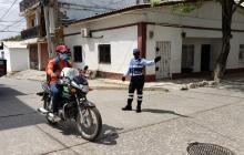 Prohíben parrillero hombre en Puerto Colombia